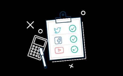 بررسی شبکه اجتماعی