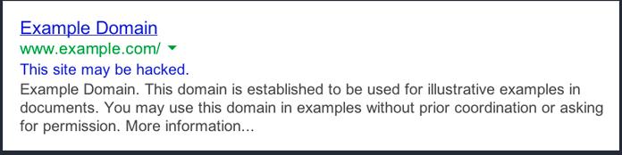 هک سایت در سئو منفی