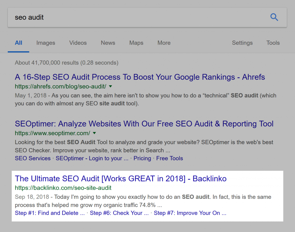 کسب رتبه 3 در گوگل