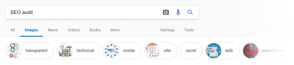 نتایج مرتبط در جستجوی تصاویر گوگل