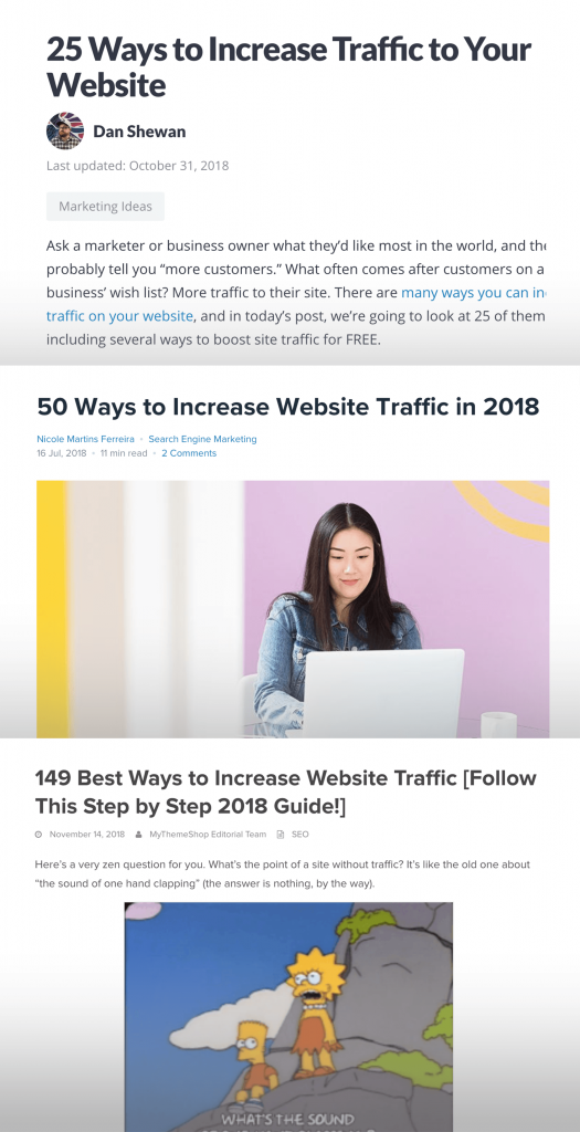 مقاله سایت در موضوع increase website traffic