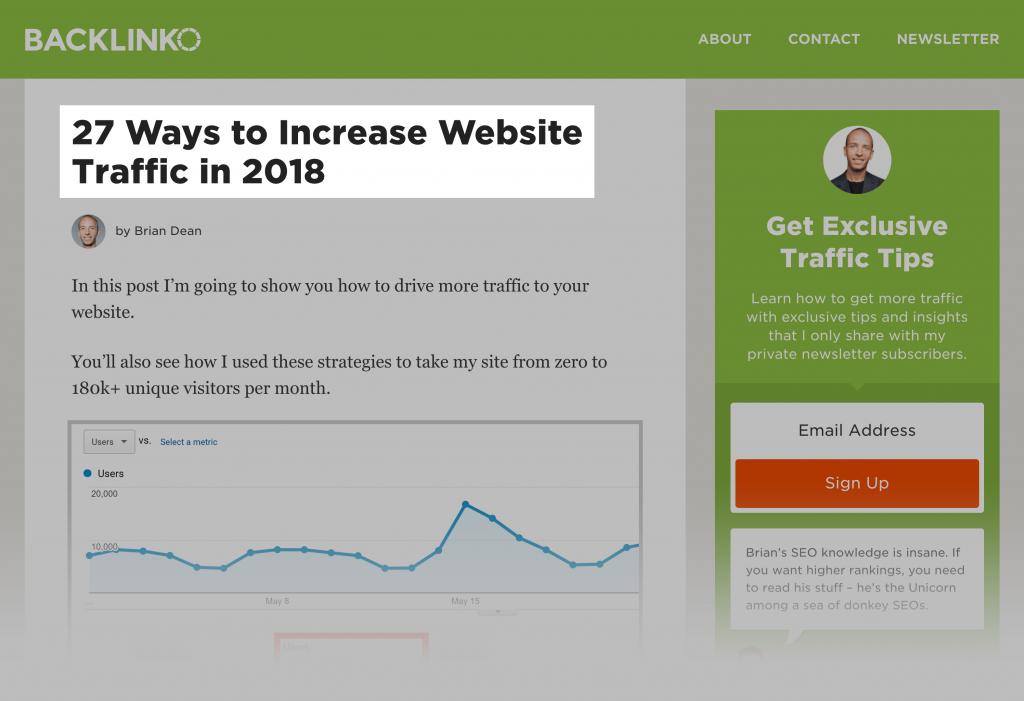 افزایش ترافیک سایت با مقاله